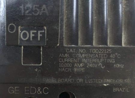 General Electric TQD22125