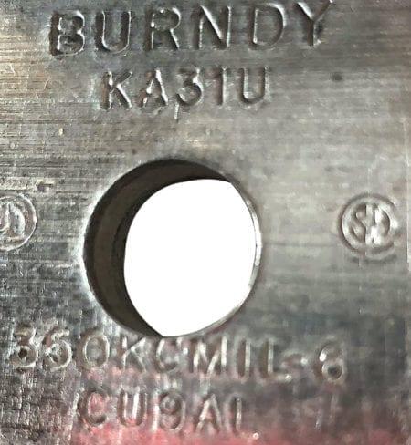 Burndy KA31U-2