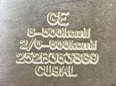 General Electric 252B3638G9-3