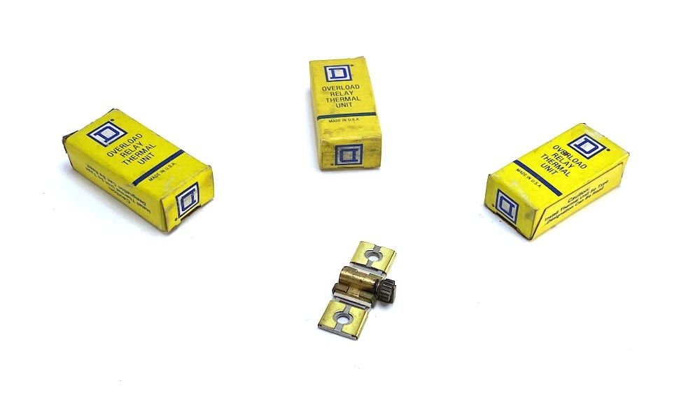 a6 Square D B5.50 Overload Relay Thermal Unit