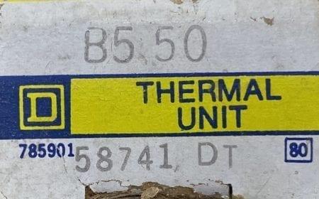 Square D B5.50