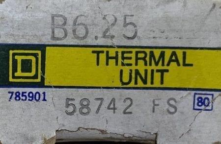 Square D B6.25