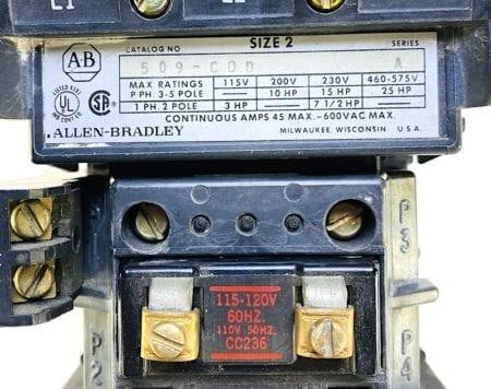 Allen Bradley 509-COD