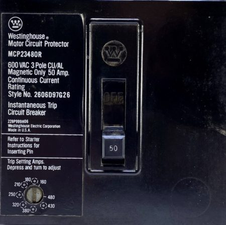 Westinghouse MCP23480R