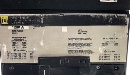 Square D MAL361200-GL