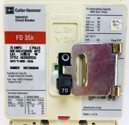 Cutler Hammer HFD3070-RL