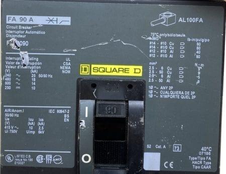 Square D FA36090-CL