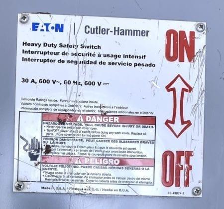 Cutler Hammer DH261UGK-NOB