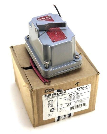 Hubbell Killark FXS-3C-NIB