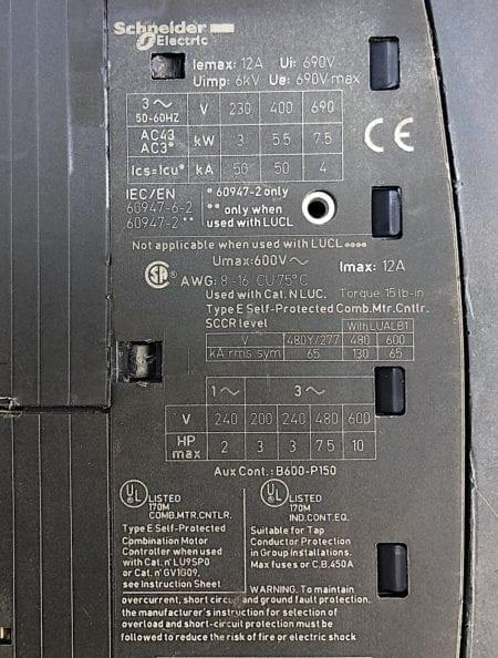 Telemecanique LUB120