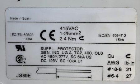 Sprecher + Schuh L8-30/2/D