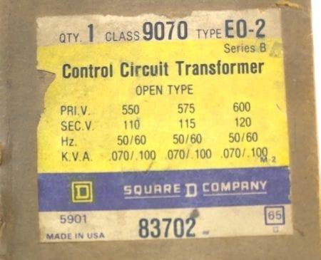 Square D 9070-EO-2