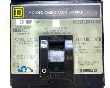 Square D KA36080-GL-NL