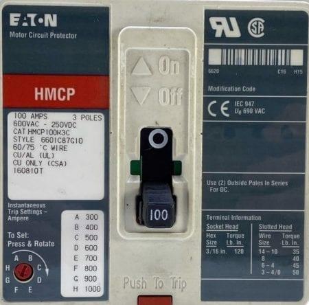 Cutler Hammer HMCP100R3C