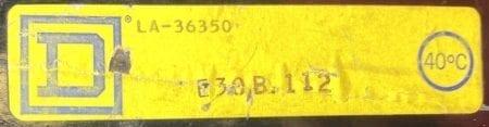 Square D LA36350-BF