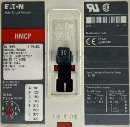 Cutler Hammer HMCP030H1C