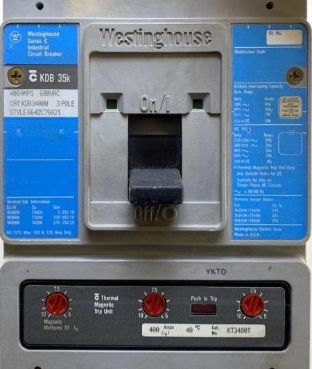 Westinghouse KDB3400W-400-BL