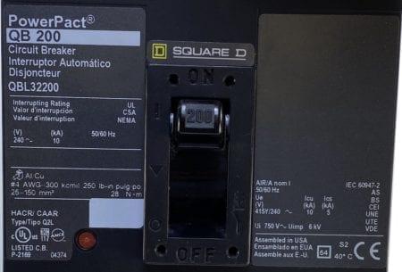 Square D QBL32200