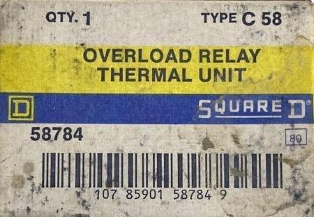 Square D C58-3