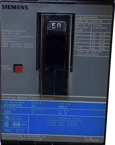 Siemens ED43B050-GL