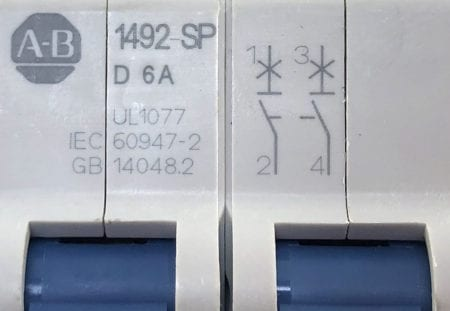 Allen Bradley 1492-SPM2D060