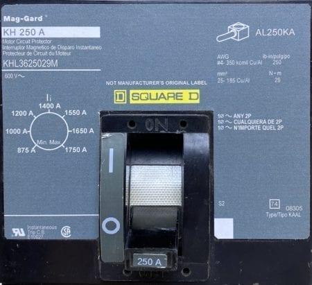 Square D KHL3625029M-NML-CL