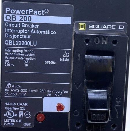 Square D QBL22200LU