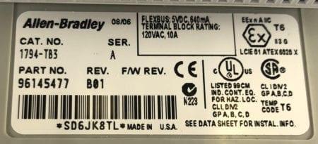 Allen Bradley 1794-OB16P-C01