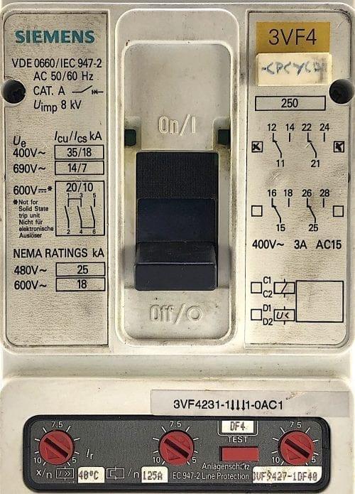 Siemens 3VF4231 -1DF41-0AC1