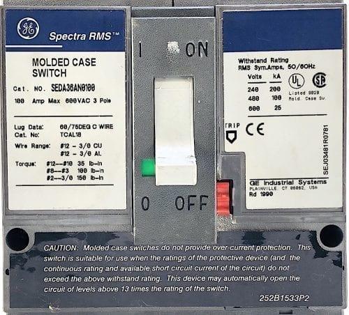 General Electric SEDA36AN0100