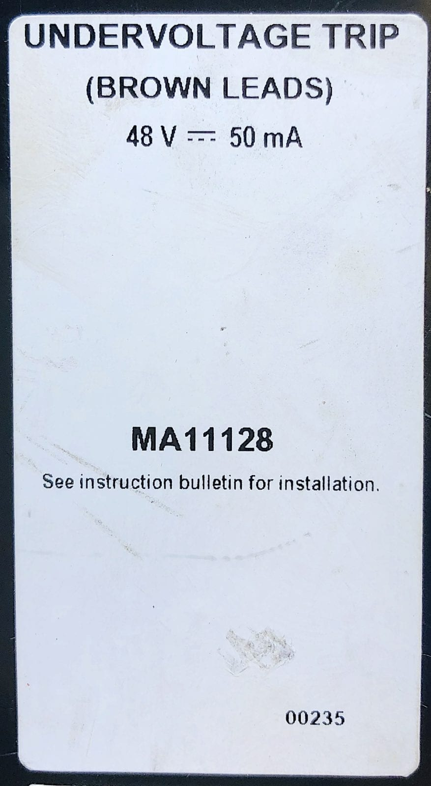 Square D MA11128