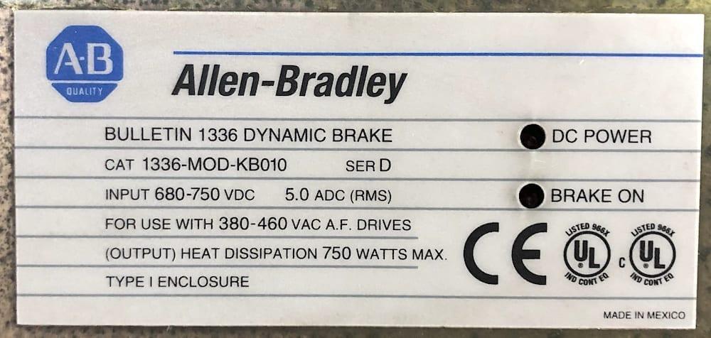 Allen Bradley 1336-MOD-KB010