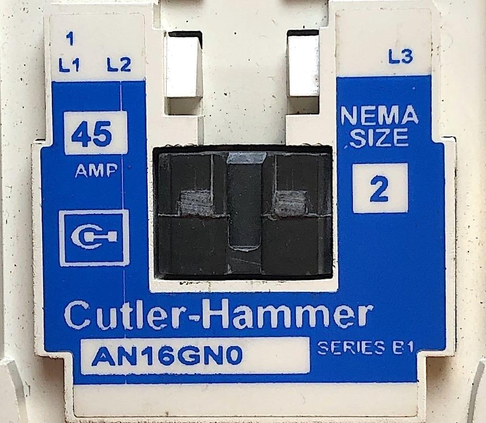 Cutler Hammer AN16GN0-120