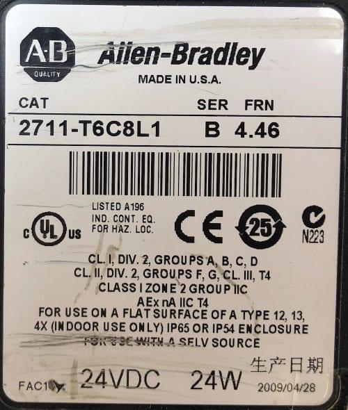 Allen Bradley 2711-T6C8L1