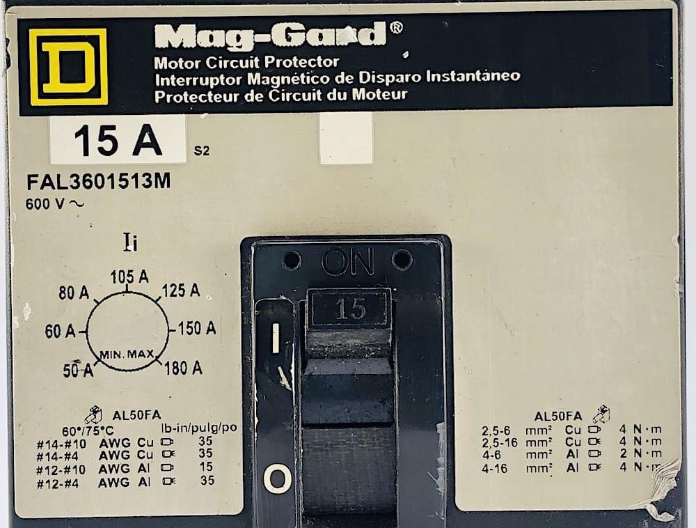 Square D FAL3601513M-GL