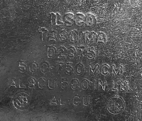 ILSCO TA801MA