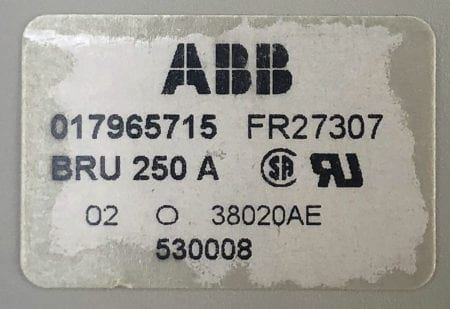 ABB 017965715