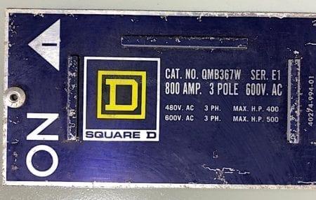 Square D QMB-367W