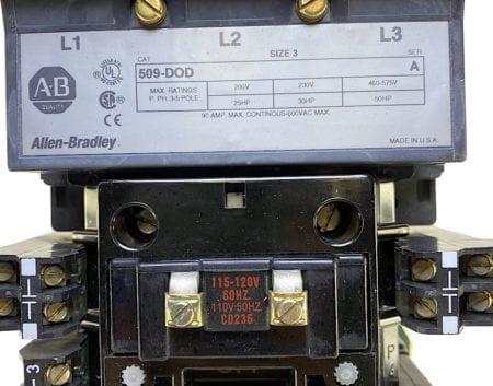 Allen Bradley 509-DOD