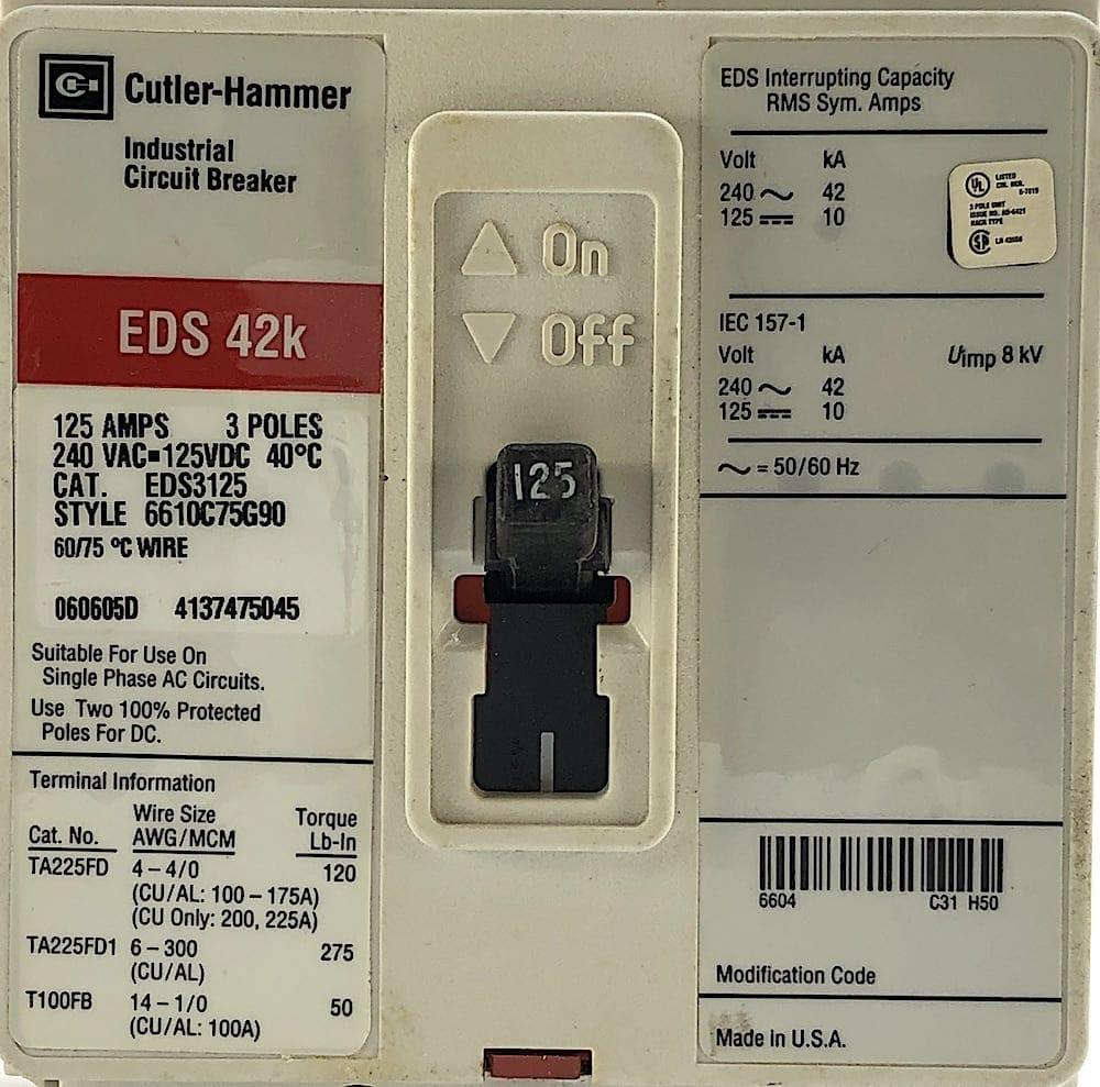 Cutler Hammer EDS3125