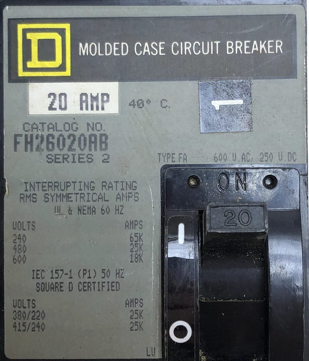 Square D FH26020AB-GL