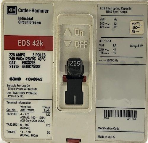 Cutler Hammer EDS3225