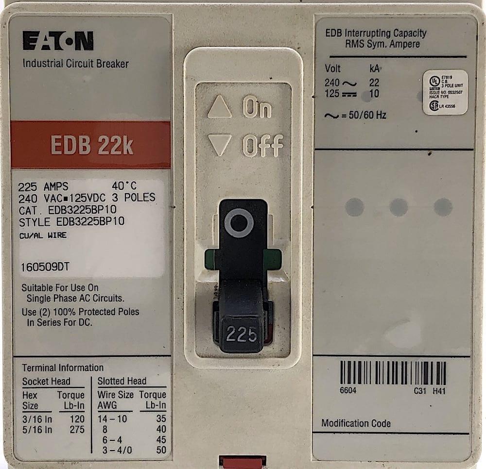 Eaton EDB3225BP10