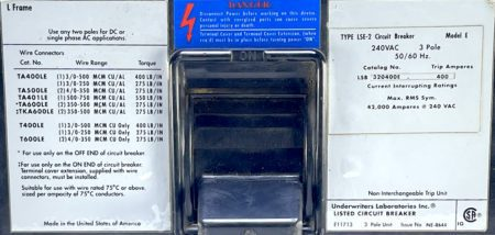 Cutler Hammer LSB320400E-400