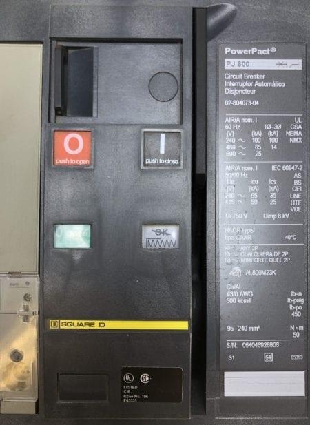 Square D PJP36080CU31AAFSL