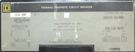 Square D MHP361000MT-GL