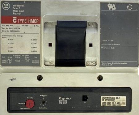Cutler Hammer HMCP600L6W