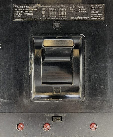 Westinghouse NB31200F-1200