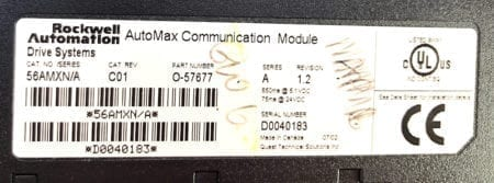 Rockwell Automation 56AMXN-C01