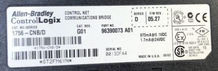 Allen Bradley 1756-CNB-G01